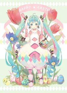 Rating: Safe Score: 45 Tags: animal_ears bodysuit bunny_ears ekita_gen hatsune_miku vocaloid User: Mr_GT