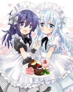 Rating: Safe Score: 26 Tags: akatsuki_(kancolle) hibiki_(kancolle) hizuki_yayoi kantai_collection maid valentine User: Mr_GT