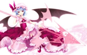 Rating: Safe Score: 36 Tags: dress remilia_scarlet touhou wa_sakaidera_umeko weapon wings User: osufaith
