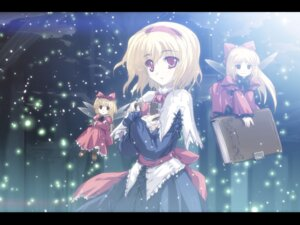 Rating: Safe Score: 15 Tags: alice_margatroid fairy hourai shanghai tokiame touhou wallpaper User: ieiediediedie
