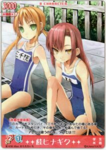 Rating: Safe Score: 5 Tags: card hayate_no_gotoku katsura_hinagiku murata_taichi sanzenin_nagi swimsuits User: vita