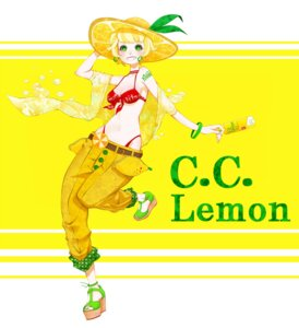 Rating: Safe Score: 7 Tags: bikini blackusagi c.c._lemon c.c._lemon_(character) cleavage swimsuits User: Phiris