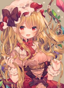 Rating: Questionable Score: 38 Tags: ana_(rznuscrf) dress flandre_scarlet pointy_ears touhou wings User: sym455