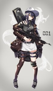 Rating: Questionable Score: 25 Tags: cup6542 garter gun smoking torn_clothes User: BattlequeenYume