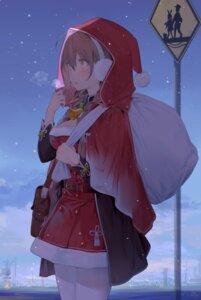 Rating: Safe Score: 37 Tags: artist_revision christmas cleavage dress kantai_collection pantyhose shinshuu_maru_(kancolle) yamano_(yamanoh) User: Mr_GT