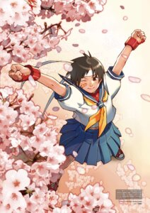 Rating: Safe Score: 10 Tags: bandaid digital_version edayan kasugano_sakura seifuku street_fighter User: Radioactive