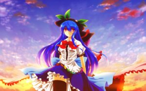 Rating: Safe Score: 13 Tags: hinanawi_tenshi nagae_iku nekominase thighhighs touhou User: Injection