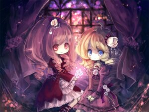 Rating: Safe Score: 21 Tags: chibi lolita_fashion onineko wallpaper User: bunnygirl