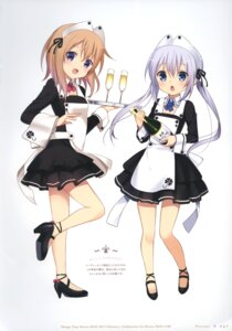 Rating: Safe Score: 40 Tags: gochuumon_wa_usagi_desu_ka? koi User: fireattack
