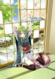 Rating: Safe Score: 45 Tags: aoki_ume japanese_clothes thighhighs User: fairyren