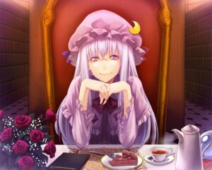 Rating: Safe Score: 3 Tags: crow_(pixiv) megane patchouli_knowledge touhou User: Mr_GT
