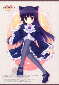 Rating: Safe Score: 44 Tags: animal_ears gokou_ruri gothic_lolita indico_lite lolita_fashion mitha nekomimi ore_no_imouto_ga_konnani_kawaii_wake_ga_nai pantyhose User: fireattack