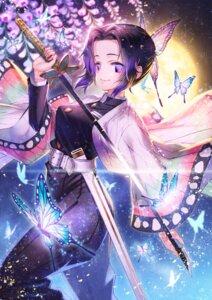 Rating: Safe Score: 8 Tags: japanese_clothes kimetsu_no_yaiba kochou_shinobu sho_(sumika) sword uniform User: Dreista