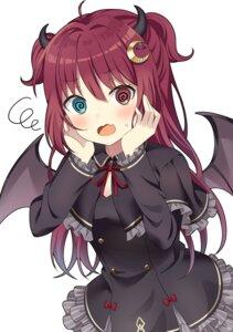Rating: Safe Score: 33 Tags: heterochromia horns nijisanji wings yuusa yuzuki_roa User: BattlequeenYume