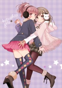Rating: Safe Score: 48 Tags: pan pan_no_mimi pantyhose thighhighs User: Hatsukoi