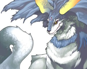 Rating: Safe Score: 3 Tags: monster nakamura_tatsunori spectral_force spectral_force_chronicle tail wings User: Radioactive