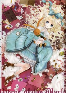 Rating: Safe Score: 20 Tags: alice alice_in_wonderland binding_discoloration kuramoto_kaya lolita_fashion pieces_of_the_world User: Mirukudesu