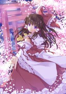 Rating: Safe Score: 21 Tags: hakurei_reimu touhou wataame27 User: ddns001