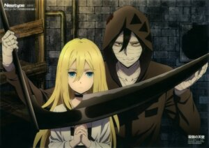 Rating: Safe Score: 29 Tags: bandages isaac_foster matsumoto_miki rachel_gardner satsuriku_no_tenshi weapon User: drop