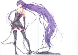 Rating: Questionable Score: 28 Tags: color_gap crease dress fate/stay_night heels kizuki_aruchu rider scanning_artifacts thighhighs udon-ya weapon User: Radioactive