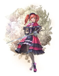 Rating: Questionable Score: 23 Tags: amy_sorel cleavage dress fishnets gothic_lolita heels kawano_takuji lolita_fashion pantsu soul_calibur soul_calibur_vi sword weapon User: Yokaiou