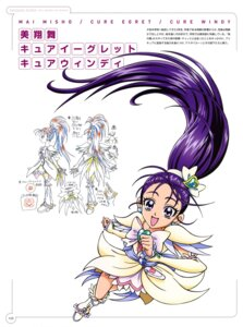 Rating: Safe Score: 2 Tags: dress futari_wa_pretty_cure_splash_star heels inagami_akira mishou_mai pretty_cure sketch User: drop