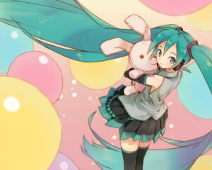 Rating: Safe Score: 17 Tags: hatsune_miku komagarita thighhighs vocaloid wallpaper User: yumichi-sama