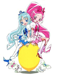 Rating: Safe Score: 6 Tags: chypre coffret dress hanasaki_tsubomi heartcatch_pretty_cure! heels kurumi_erika pretty_cure thighhighs umakoshi_yoshihiko User: RKO