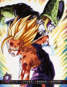Rating: Safe Score: 8 Tags: calendar cell_(character) dragon_ball male son_gohan User: Radioactive