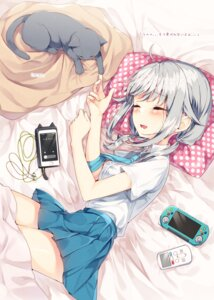 Rating: Safe Score: 38 Tags: neko sakuragi_ren seifuku sheets User: Mr_GT