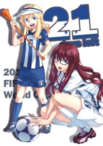 Rating: Safe Score: 9 Tags: 2010_fifa_world_cup bliss megane soccer User: Tensa