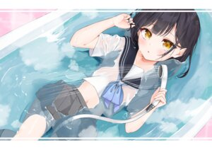 Rating: Questionable Score: 29 Tags: hijouguti loli see_through seifuku tagme wet wet_clothes User: BattlequeenYume