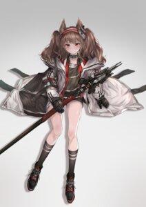 Rating: Safe Score: 14 Tags: angelina_(arknights) animal_ears arknights hakua_mill weapon User: Dreista