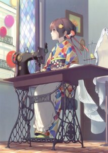 Rating: Safe Score: 40 Tags: gin_(oyoyo) kimono User: Twinsenzw
