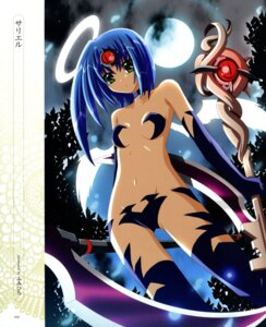 Rating: Questionable Score: 30 Tags: angel breasts fumi_hiro maebari thighhighs wings User: petopeto