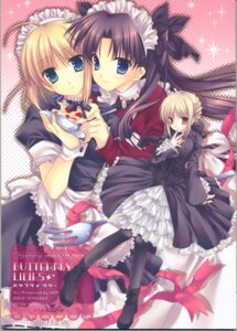 Rating: Safe Score: 23 Tags: fate/stay_night lolita_fashion saber tatekawa_mako toosaka_rin wnb User: Radioactive