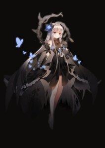 Rating: Safe Score: 48 Tags: breast_hold dress jiji_(381134808) kasugano_sora skirt_lift yosuga_no_sora User: sym455