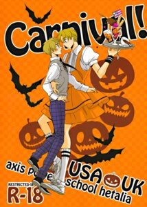 Rating: Safe Score: 3 Tags: america crossdress halloween hetalia_axis_powers male megane tagme united_kingdom waitress wings yaoi User: charunetra