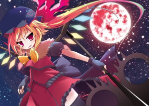 Rating: Safe Score: 12 Tags: bell_(satappe) flandre_scarlet touhou wings User: charunetra