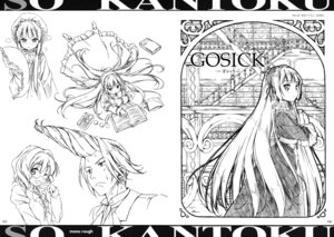 Rating: Safe Score: 14 Tags: 5_nenme_no_houkago dress gosick gothic_lolita kantoku lolita_fashion megane monochrome sketch victorica_de_broix User: Hatsukoi