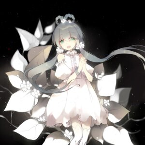 Rating: Safe Score: 34 Tags: dress luo_tianyi taoi thighhighs vocaloid User: charunetra