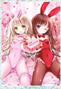 Rating: Safe Score: 73 Tags: animal_ears bunny_ears bunny_girl fishnets garter pantyhose possible_duplicate tinkle User: RICO740