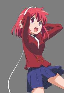 Rating: Safe Score: 15 Tags: headphones kushieda_minori seifuku toradora! transparent_png vector_trace User: CnP