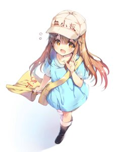 Rating: Safe Score: 52 Tags: hataraku_saibou kesshouban miwabe_sakura User: Mr_GT