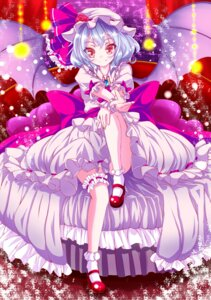 Rating: Safe Score: 22 Tags: ayane00miria garter heels remilia_scarlet touhou wings User: Mr_GT