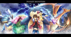 Rating: Safe Score: 17 Tags: blastoise charizard espeon pikachu pokemon red_(pokemon) snorlax venusaur User: charunetra