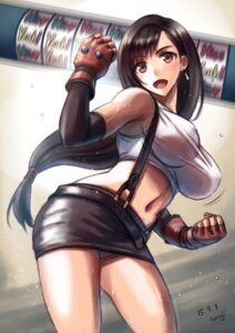 Rating: Questionable Score: 40 Tags: final_fantasy final_fantasy_vii honoji pantsu signed tifa_lockhart wet User: mash