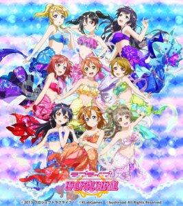 Rating: Safe Score: 44 Tags: ayase_eli bikini_top cleavage hoshizora_rin koizumi_hanayo kousaka_honoka love_live! love_live!_school_idol_festival mermaid minami_kotori nishikino_maki sonoda_umi tagme tail toujou_nozomi yazawa_nico User: saemonnokami