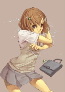 Rating: Safe Score: 8 Tags: grin_grin misaka_mikoto seifuku to_aru_kagaku_no_railgun to_aru_majutsu_no_index User: Radioactive