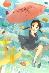Rating: Safe Score: 12 Tags: cocolo_(co_co_lo) seifuku umbrella User: charunetra